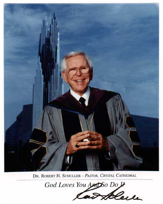 Robert Schuller (Bron: http://dljh1964.wordpress.com/category/inspiration/robert-schuller/).